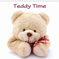 Teddy Time - CALVENDO calendar by Anke van Wyk