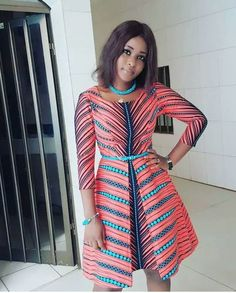 In many of our post, we have brought to you different Ankara fashion styles that you can be worn for various occasions here comes again another series of Ankara styles that you should have in your wardrobe.Having Ankara styles as your absolute favourite a African Dresses For Women, African Print Dresses, African Print Fashion, Africa Fashion, African Attire, African Wear, African Fashion Dresses, African Women, Fashion Prints