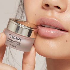 Discover By Terry's bestselling Baume de Rose lip balm. Vitamin-rich rose lip balm with intense moisturizing, regenerative and protective properties. Perfect addition to your lip care routine. Parfum Rose, Fragrance Parfum, Lip Injections, Lip Plumper, Lip Implants, Lip Surgery, Smooth Lips, Chapped Lips, Lip Fillers