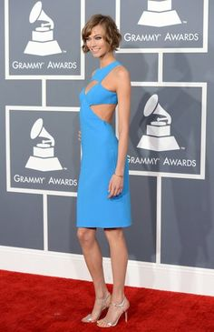 Karlie Kloss in Michael Kors at the Grammys | See more red carpet arrivals here!