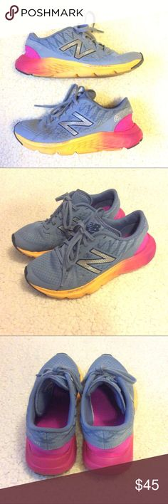 🌺 New Balance Speed Ride Sneakers 🌺 Cute New Balance sneakers. Good condition. Small black mark on front on shoe. See pic. New Balance Shoes Sneakers