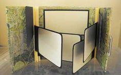 How To Make a Gatefold Mini #Scrapbook #tutorial #album