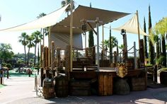 Blackbeard's is allegedly haunted by several ghosts of real-life pirates.