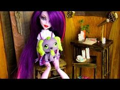 How to Make a Doll Chair, Side Table & Candles : Our Treehouse Decor | Plus Custom LPS Spike