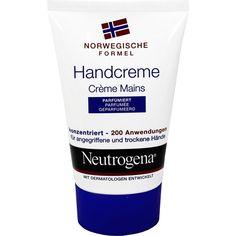 NEUTROGENA norwegische Formel Handcreme parfümiert:   Packungsinhalt: 50 ml Creme PZN: 04105782 Hersteller: Johnson&Johnson GmbH-CHC…