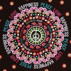 Peace, love, and happiness hopefully one day!