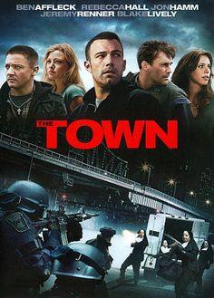 The Town (DVD, 2010)(Ben Affleck, Rebecca Hall)(Like NEW)(Region1)