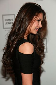 Nina Dobrev Attends Various Shows During Mercedes-Benz Fashion Week Socialite Life Wavy Weave Hairstyles, Nikolina Konstantinova Dobreva, Winter Typ, Katherine Pierce, Elena Gilbert, Hot Brunette, Clip In Hair Extensions, 100 Human Hair, Gorgeous Hair