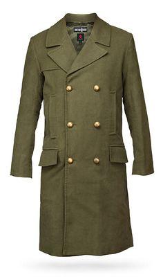 ThinkGeek :: Doctor Who 11th Doctor's Green Jacket $329.99