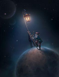 The little prince book illustrations L Publishings Fantasy World, Fantasy Art, Good Night Moon, The Little Prince, Moon Art, Outdoor Art, Galaxy Wallpaper, Animal Design, Fantasy Landscape