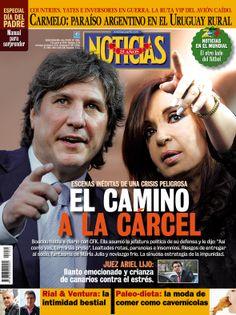 Revista Noticias Movie Posters, War, Political Memes, Journals, Yachts, Falling Down, Te Amo, Diaries, Argentina