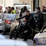 Tom Cruise crashes a BMW R nineT in the new Mission: Impossible 6  Motorcycle News, Reviews and the best biking opinion! Gear · News · Opinion · Reviews · Sport · Video · 2016 · 2017 · bike shed · BMW · business · crazy · Custom · Ducati · eicma · electric · honda · intermot · kawasaki · KTM · lorenzo · marquez ...