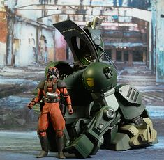 ThreeZeroVOTOMS Armored Scopedog Trooper and Vehicle action figure by ThreeZero