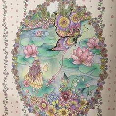 #tomokotashiro #fairytalecolouringbook #princessesandfairiescolouringbook…