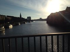 Wesser River View from Mitte