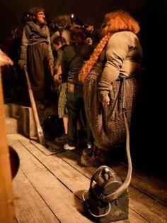 Behind the scenes of 'The Hobbit'