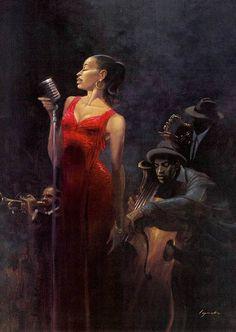 """""""Garnet Diva"""" by Brent Lynch"""