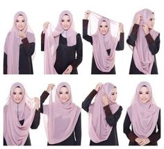 This simple and easy hijab tutorial will help you get a full coverage on your chest area, it's quite simple, modest and look absolutely beautiful, Follow the steps below to get the final result 1. Place the hijab on…-Hijab Tutorials
