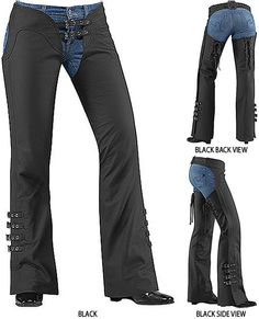 $235 - Icon Hella Chaps Women's Leather Pants