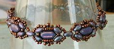 "Linda's Crafty Inspirations: Coming Soon - Teejay's Silky ""Mary Ann"" Bracelet Pattern 15/0 8/0 Silky SD"