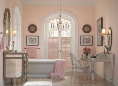 See 7 Gorgeous Pink Paint Colors That Glow in Any Room: Shell Coral | Behr