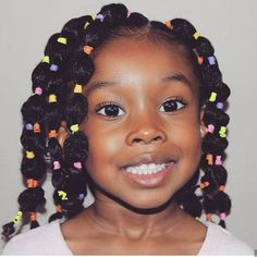 Natural Hairstyles for Little Black Girls Choosing styles that are cute and fun can help your little girl learn to love her natural hair. Here are 35 cute natural hairstyles for little Black girls. Lil Girl Hairstyles, Black Kids Hairstyles, Natural Hairstyles For Kids, Kids Braided Hairstyles, Funny Hairstyles, School Hairstyles, Curly Natural Hair Styles, Mixed Baby Hairstyles, Childrens Hairstyles