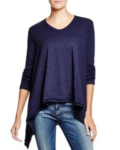 Wilt Flutter Hem Mixed Top | Bloomingdale's