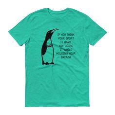 Penguin Swim Short sleeve t-shirt