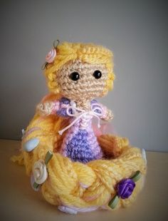 Amigurumi Rapunzel Pattern : 1000+ images about Disney Amigurumi - Completed on ...