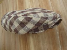 Baby Boy Clothing: Brown Plaid Newsboy Hat for Baby / Toddlers, Baby Boy Photo Prop, Brown Golf Hat, Gatsby Hat, Ringbearer Hat, Newsies Hat. $28.00, via Etsy.