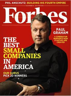 PG on the cover of Forbes