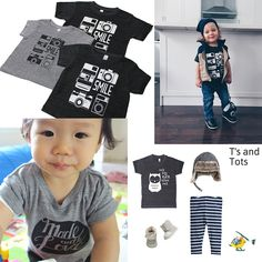 Stoere t-shirts van T's and Tots - Oh yeah baby!