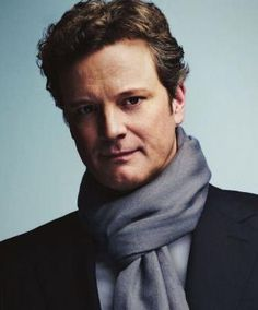 That awkward moment when you see a picture of Colin Firth in a scarf and all you can think of is Sherlock