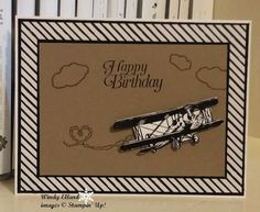 Windy's Wonderful Creations, Stampin' Up!, #GDP015, Sky Is The Limit