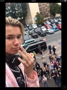 You look the Marcus a take photo with your phone
