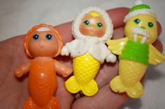 I think we had the one in the middle Sea Wees Lot of 3 Mermaid Friends Baby