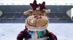 Snow at Turf Moor, Burnley FC