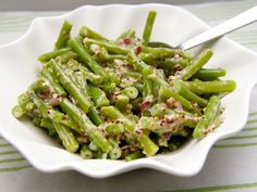 Happy Foods, Goulash, Soul Food, Asparagus, Green Beans, Side Dishes, Food And Drink, Low Carb, Yummy Food