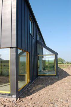 Metal Farmhouse w/ Detached Garage & Guest Living Quarters! (12 Pictures)   Metal Building Homes