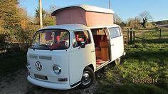 VW Volkswagen T2 Bay Window Camper Van Crossover Year Danbury Pop Top Tax Exempt   eBay