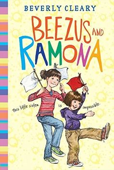 Beezus and Ramona by Beverly Cleary: Beezus' biggest problem is her 4 year old sister Ramona. Even though Beezus knows sisters are supposed to love each other, with a sister like Ramona, it seems impossible. Ramona Quimby, Ramona And Beezus, Book Series, Book 1, The Book, Ramona Books, Good Books, My Books, Beverly Cleary