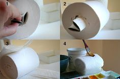 The Rita's Art Blog: this is the BEST tip I've seen for ages. I tried it this week and will never go back to sponges and paper towels again!