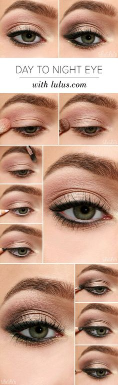 Eye Makeup Tips and Advice Eyes occupy the most prominent place among the five sensory organs of our body. Large and beautiful eyes enhance one's beauty manifold. Healthy eyes are directly related to general health. Use eye-make up v Makeup Goals, Makeup Inspo, Makeup Inspiration, Makeup Ideas, Eye Makeup Tutorials, Prom Makeup Tutorial, Makeup Tricks, Simple Eyeliner Tutorial, Basic Makeup Tutorial