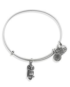 Alex and Ani Ode to the Owl Expandable Wire Bangle, Charity by Design Collection | FOR LESS: https://www.saveya.com/buy/bloomingdales-gift-cards