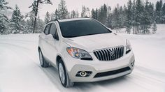 The 2015 Buick Encore luxury small crossover adapts easily to different situations with the available all-wheel drive