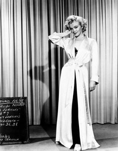 Marilyn Monroe Wardrobe Tests as Lorelei Lee in 'Gentlemen Prefer Blondes' (1953)