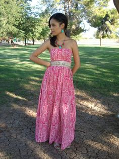 Sew Her Style: A stroll in the park -Maxi Dress