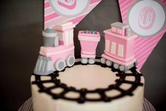 Girl Train Party Birthday Party Ideas | Photo 1 of 94 | Catch My Party