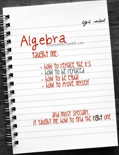 cute algebra - Google Search
