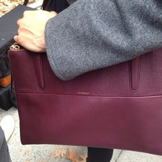 The Coach Borough bag gets ready for its close-up on the set of the Fall 2013 campaign shoot #CoachNewYorkStories